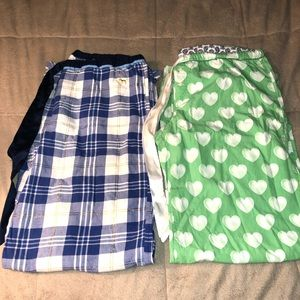 2 pairs of Victoria's Secret Pajama Bottoms